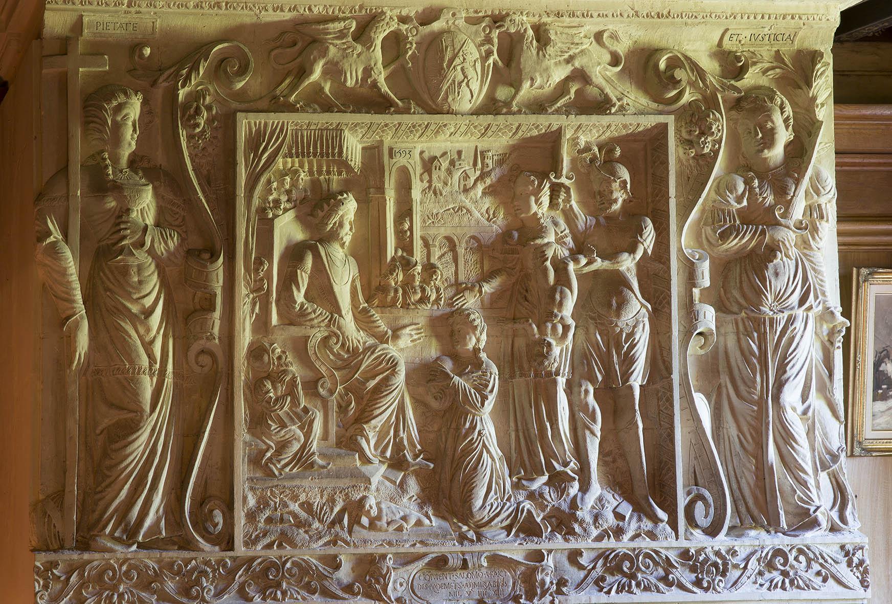 gravure chateau normandie