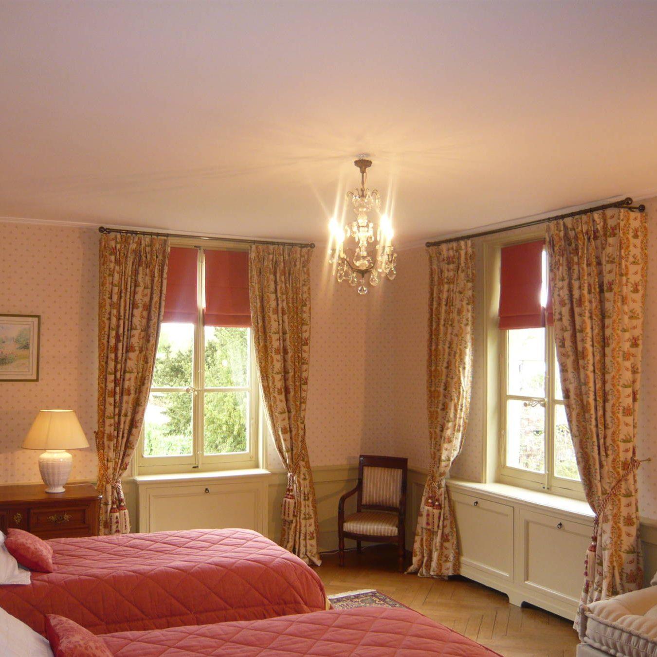 Chateau de Bénéauville chambre Jasmin
